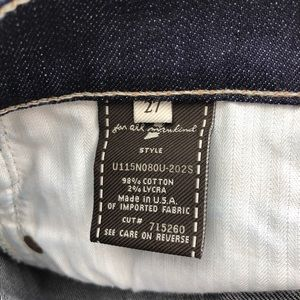 7 For All Mankind Jeans - 7 for all mankind dojo flare jeans 27x33